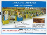 Corrugated cardboard making
