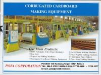 Corrugated cardboard making