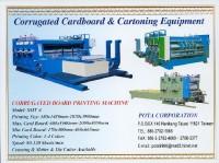 Carton making machine