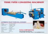 Toilet paper rewinder