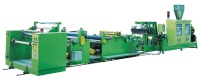 PET Single/ Multilayer Sheet Extruder