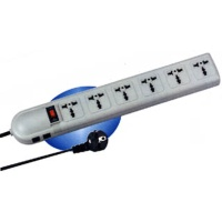 6 Multipurpose Outlet Power Strip