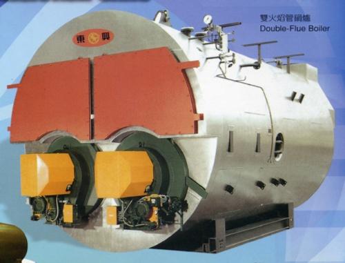Double-Flue Boiler