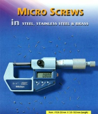 MICRO SCREWS IN STEEL, STAINLESS STEEL & BRASS