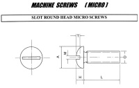 MACHINE SCREWS(MICRO)