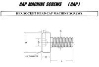 CAP MACHINE SCREWS(CAP)
