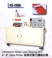Ultrasonic Wide Lace Sewing M/C