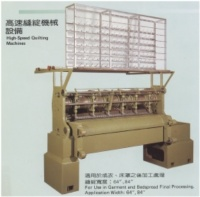QUILT SEWING & QUILTING MACHINE EQUIPMENT
