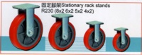 Stationary rack stands