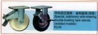 Special, stationary side-braking.double-braking rack stants(welded models)