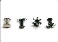 Fasteners for stationeries