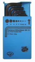 8PCS 塑胶盒装六角扳手组