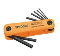 7PCS NYLON FOLD UP HEX KEY SET