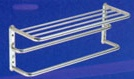Towel Shelf With Double Drying Rod s/s