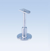 HANDRAIL SUPPORT RADIUSED AND ANGLE ADJUSTABLE