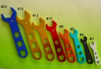 Aluminum Open End Wrench Set for Race Cars
