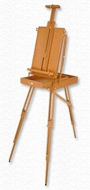 Beech wooden easel sketch box