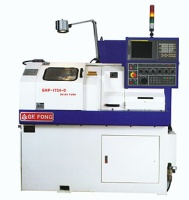 SLIDING HEAD TYPE CNC LATHE