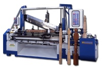 Automatic Hydraulic Backknife Wooden Lathe
