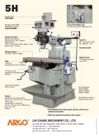 Cens.com TURRET MILLING MACHINE LIH CHANG MACHINERY CO., LTD.