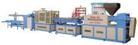 Wood-Plastic Composite Profile Extrusion Line