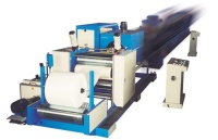 Two layers co-extrusion extruder/ PP woven tubular fabric inner liner liside laminating machine