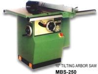 """MBS-250 10"""" Tilting Arbor Saw"""