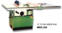 """MBS-350 14"""" Tilting Arbor Saw"""