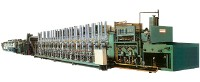 CONTINUOUS BRIGHT CARBURIZING (TEMPERING) QUENCHING FURNACE (GAS BURNER HEATING TYPE)