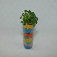 Multicolored soil