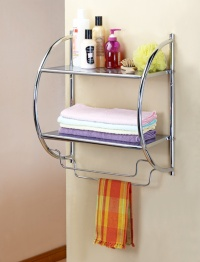 BATH ROOM WALL RACK