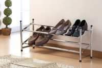 2-TIER FLXIBLE SHOSE RACK