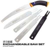 Exchangeable Saw Set