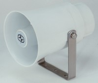Plastic Outdoor Loud Speaker with Transformer