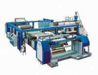 Extrusion system lamination machine