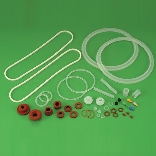 Silicon rubber parts for various pplications