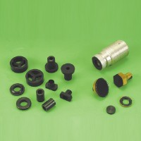 Special rubber parts (metal and rubber bonded items)