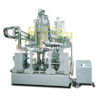 TWO-LAYER/ TWO COLOR ACCUMULATOR DIE-HEAD BLOW MOULDING MACHINE