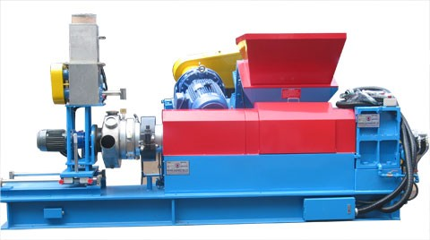 Feeder-Ruder Pellet Making Extruder