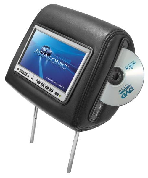 多媒體DVD車用液晶頭枕