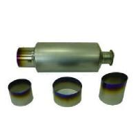 Titanium muffler and tailpipe