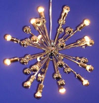 20 Satellite Metal Ball Pendant Lamp