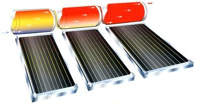 Combination steps for solar & thermos zinc plated scaffold