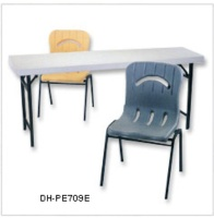 PLASTIC TABLE AND CHAIR