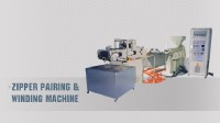 ZIPPER PAIRING & WINDING MACHINE