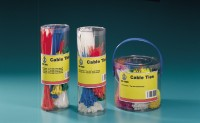 Assorted Cable Ties in Canister