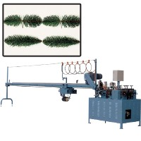 Two-way leaf-stretching machine