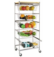5-layer Iron Wire Basket Holder