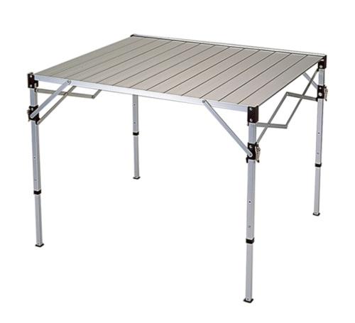 Aluminum Folding Table, Picnic Table, Metal Tubular Outdoor Furniture, Camping Equipment