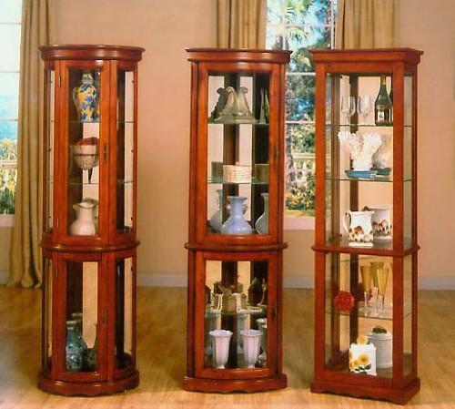 Half Curio Cabinet